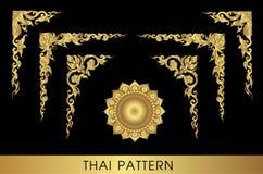 泰国艺术的模式 免版税图库摄影