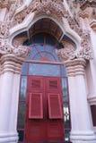 泰国艺术的门 免版税库存照片