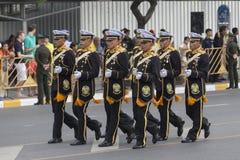 泰国英国皇家海军官员 库存照片