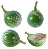泰国茄子纠错文件传输协议或者老挝人绿色镶边茄子 图库摄影