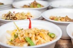 泰国菜 免版税库存照片