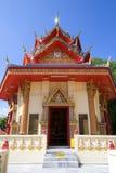 泰国菩萨寺庙 免版税库存照片