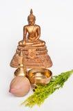 泰国菩萨的礼拜式 库存照片