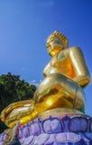 泰国菩萨的雕象 库存照片