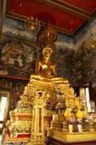泰国菩萨雕象 库存图片
