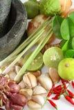 泰国蔬菜 免版税库存图片