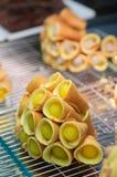 泰国薄煎饼卷,泰国点心 库存照片