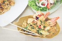 泰国螃蟹特色食品 库存图片