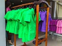 泰国衣物 免版税库存照片