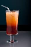 泰国被冰的茶 免版税库存图片