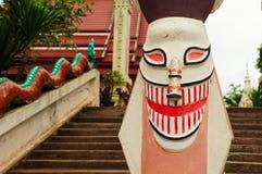 泰国被屏蔽的雕象 免版税库存照片