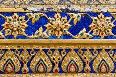 泰国装饰品的纹理 免版税库存图片