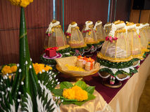 泰国订婚碗 免版税库存图片