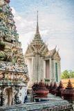 泰国详细资料的寺庙 库存照片