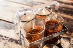 泰国调味品peppe 免版税库存图片