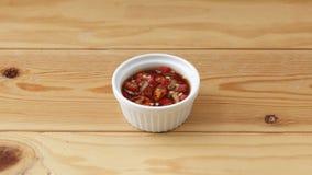 泰国辣味番茄酱 免版税库存图片