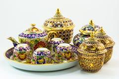 泰国遗产工艺品 库存照片