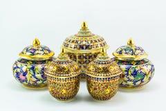 泰国遗产工艺品 免版税图库摄影