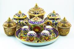 泰国遗产工艺品 免版税库存照片