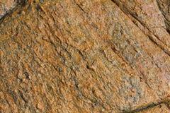 泰国酸值Samet多岩石的海滩纹理 免版税图库摄影