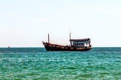 泰国酸值Samet老船 免版税库存照片