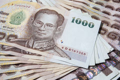 泰国金钱, 1000泰铢 库存图片