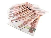 泰国金钱 免版税库存照片
