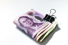 泰国金钱浴 免版税库存图片