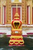 泰国金黄的塔 免版税图库摄影