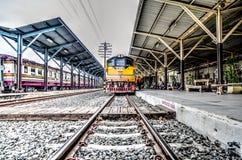 泰国铁路 免版税库存照片