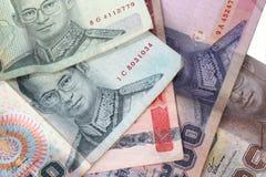 泰国铢的特写镜头 免版税库存照片