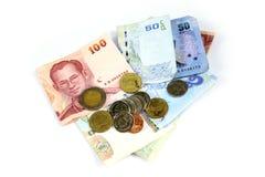 泰国铢 免版税库存图片