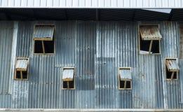 泰国锌谷仓 免版税图库摄影