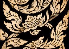 泰国镶边纹理 库存图片