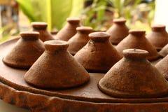 泰国陶器 免版税库存照片
