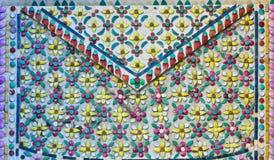 泰国陶瓷装饰 库存照片