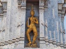 泰国雕塑天使 库存照片