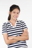 泰国青少年的女孩 免版税库存照片