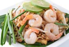 泰国面条的样式 免版税图库摄影