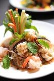 泰国面条的沙拉 库存图片