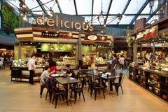 泰国食品店内部 免版税库存图片