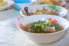 泰国食物品种  库存照片