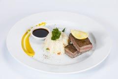 泰国食物在一家豪华旅馆里 免版税图库摄影