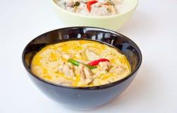 泰国食物电话KAENG KHEAW WAN KAI 免版税库存图片