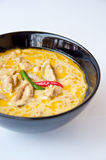 泰国食物电话KAENGKEAW WAN KAI 免版税库存照片