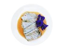 泰国食物的快餐 库存图片