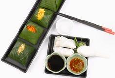 泰国食物的构成 免版税库存图片