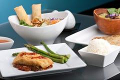 泰国食物的美丽的分类 图库摄影