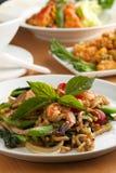 泰国食物盘品种 免版税图库摄影