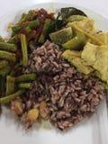 泰国食物纤巧 库存图片